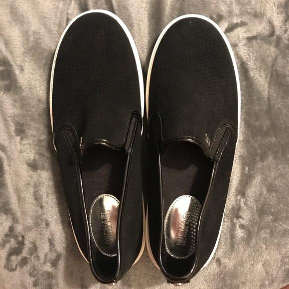 Michael Kors Shoes - Michael Kors black slide-on shoes